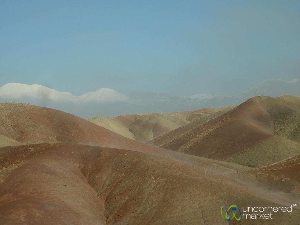 Hills on the Way to Jolfa, Iran