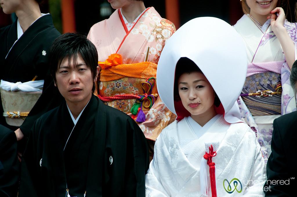 Japanese Wedding at Itsukushima Shinto Shrine - Miyajima, Japan