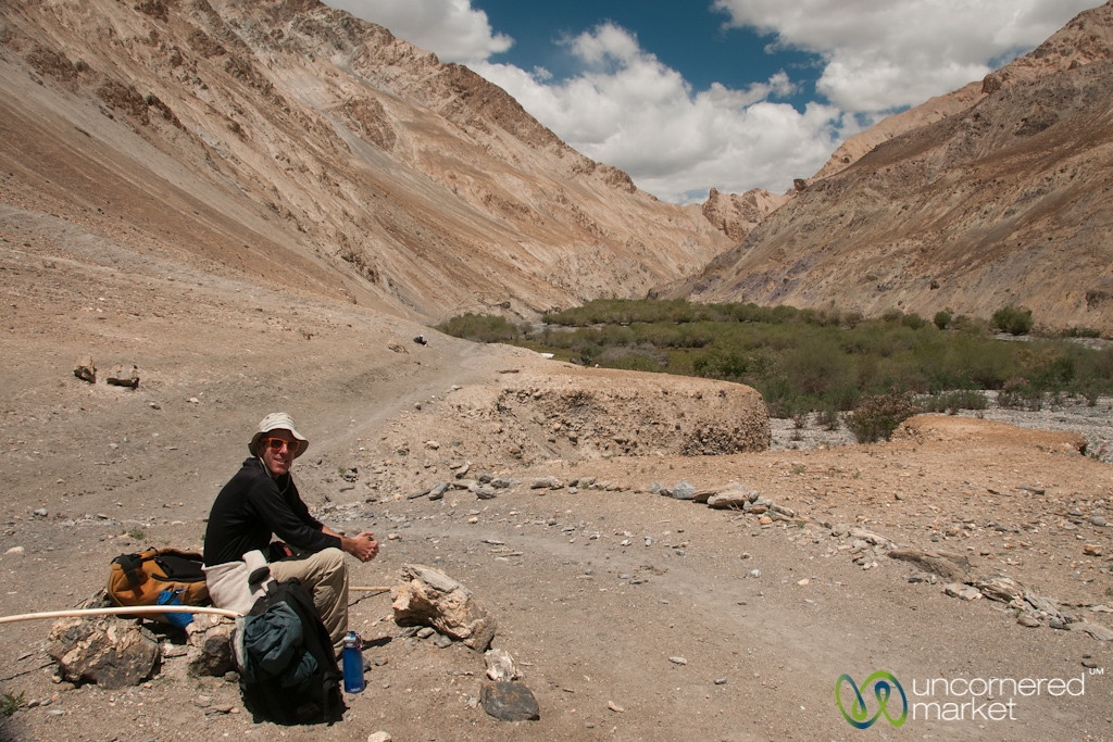 Rest Stop, Day 3 of Markha Valley Trek - Ladakh, India