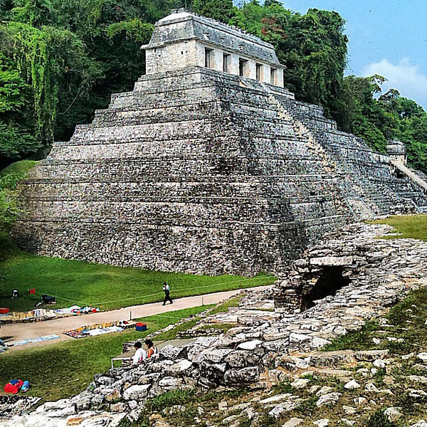 Thinking about the Mayan ruins at Palenque #Chiapas #Mexico after listening to Graham Hancock's TEDx talk on altered states of consciousness