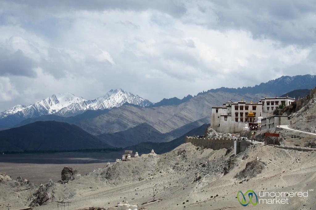 Tibetan Buddhist Monasteries and High Desert Mountains - Ladakh, India