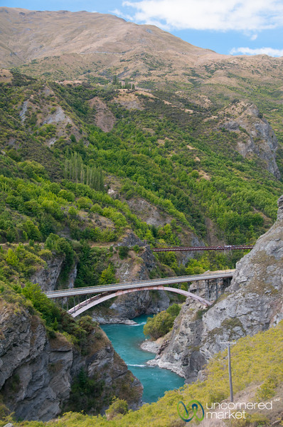 Bungee Jumping Bridge - Queenstown, New Zealand