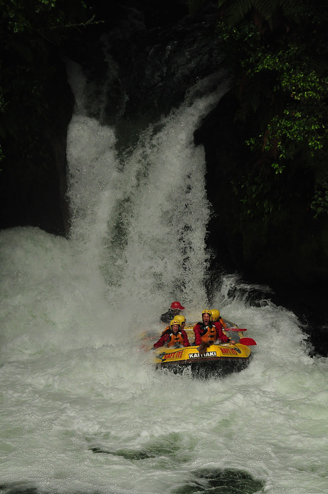 White Water Rafting on Kaituna River - New Zealand