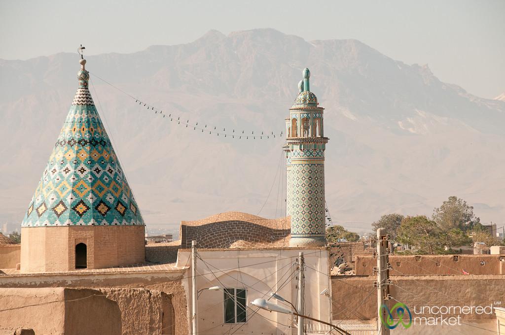 Rooftop View in Kashan, Iran