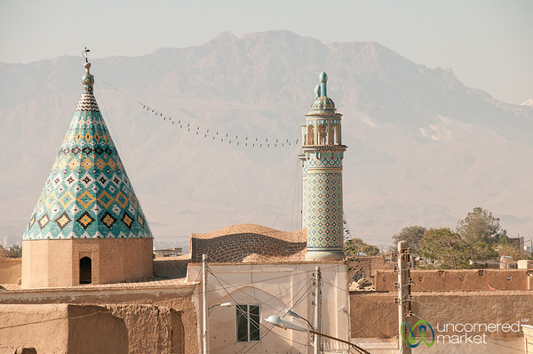 Rooftop View in Kashan, Iran