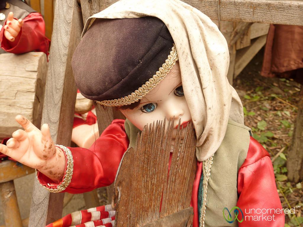 Masuleh Spooky Doll - Iran