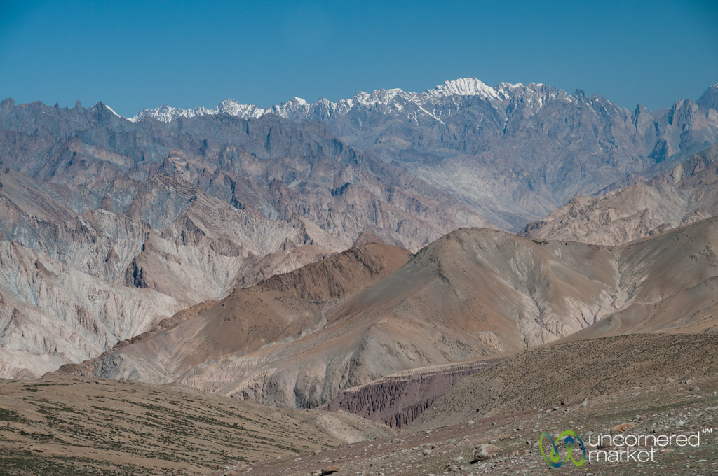 Layers and Layers of Mountains and Zanskar Range - Day 6 of Markha Valley Trek - Ladakh, India