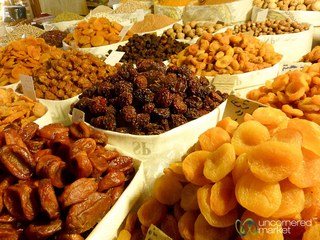 Dried Fruits at Ardabil Market, Iran
