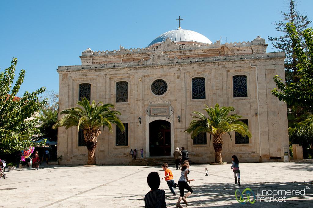 Church of Saint Titus in Heraklion, Crete