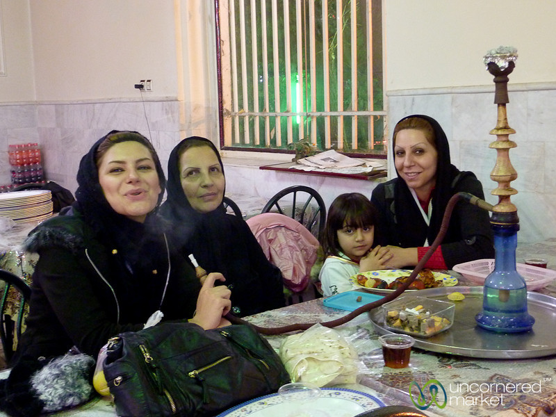 Three Generations of Iranian Women - Kermanshah, Iran