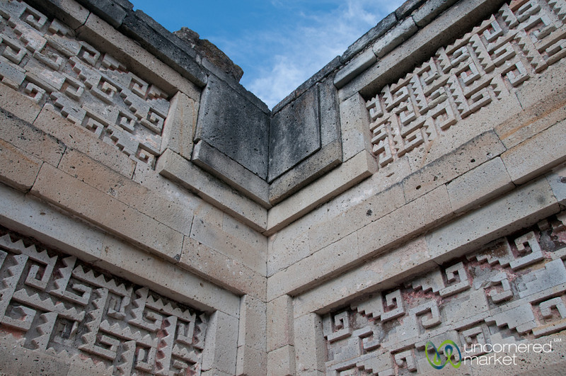 Detailed Designs at Mitla - Oaxaca, Mexico