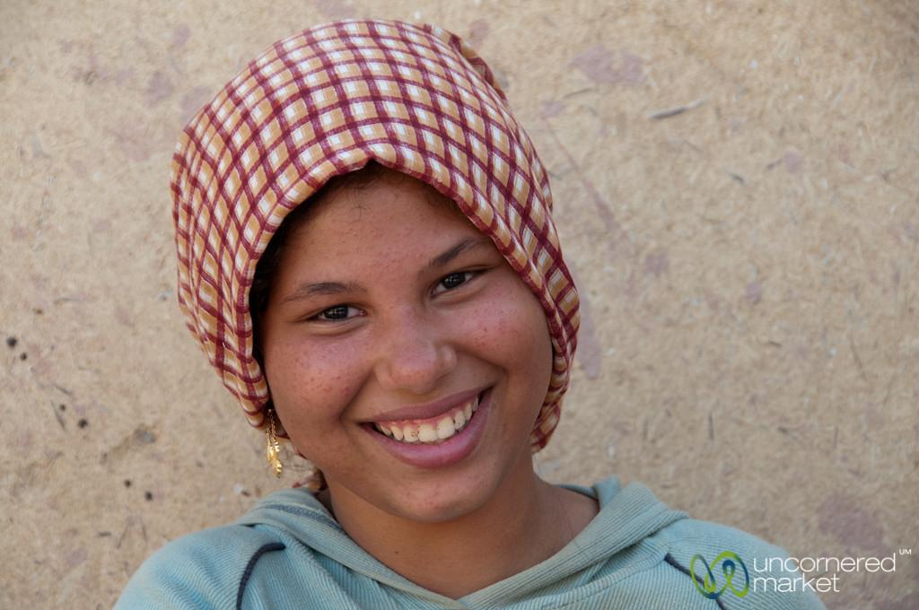 Egyptian Smiles in Tunis - Fayoum, Egypt