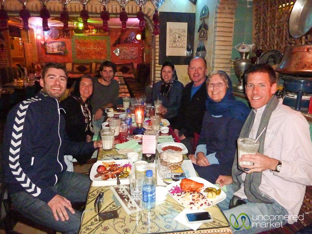 Final Meal in Tehran, Iran