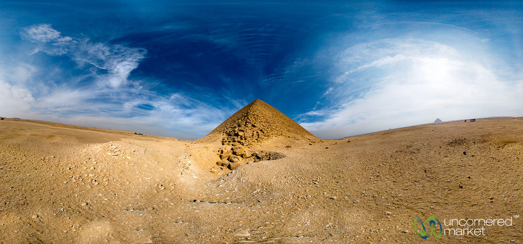 Red Pyramid of Egypt, a Panorama