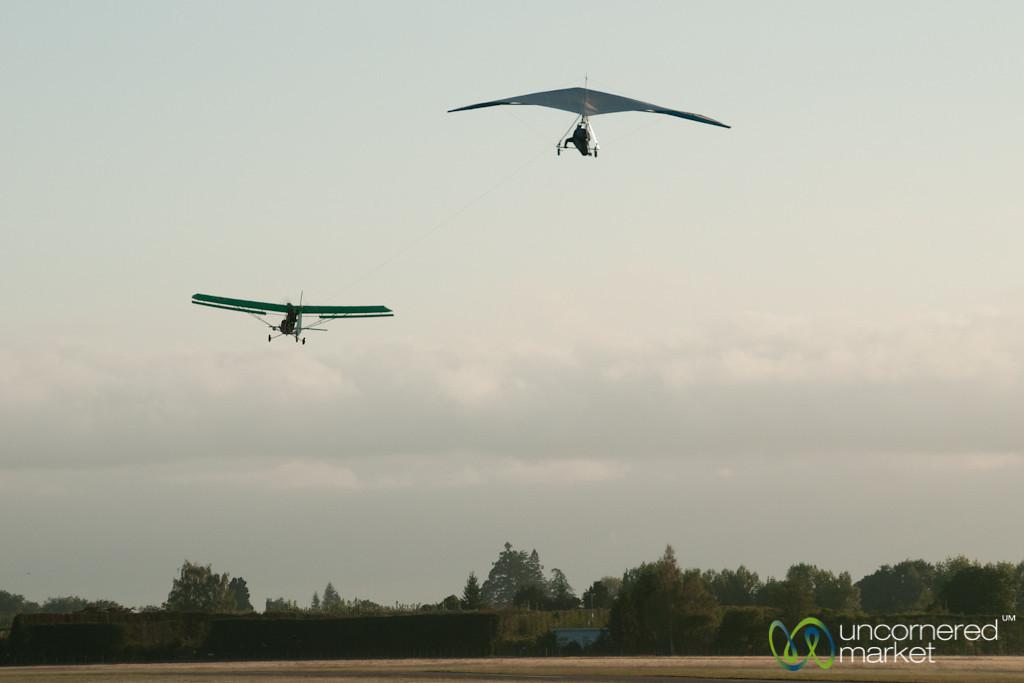 Hang Gliding Outside of Abel Tasman - New Zealand