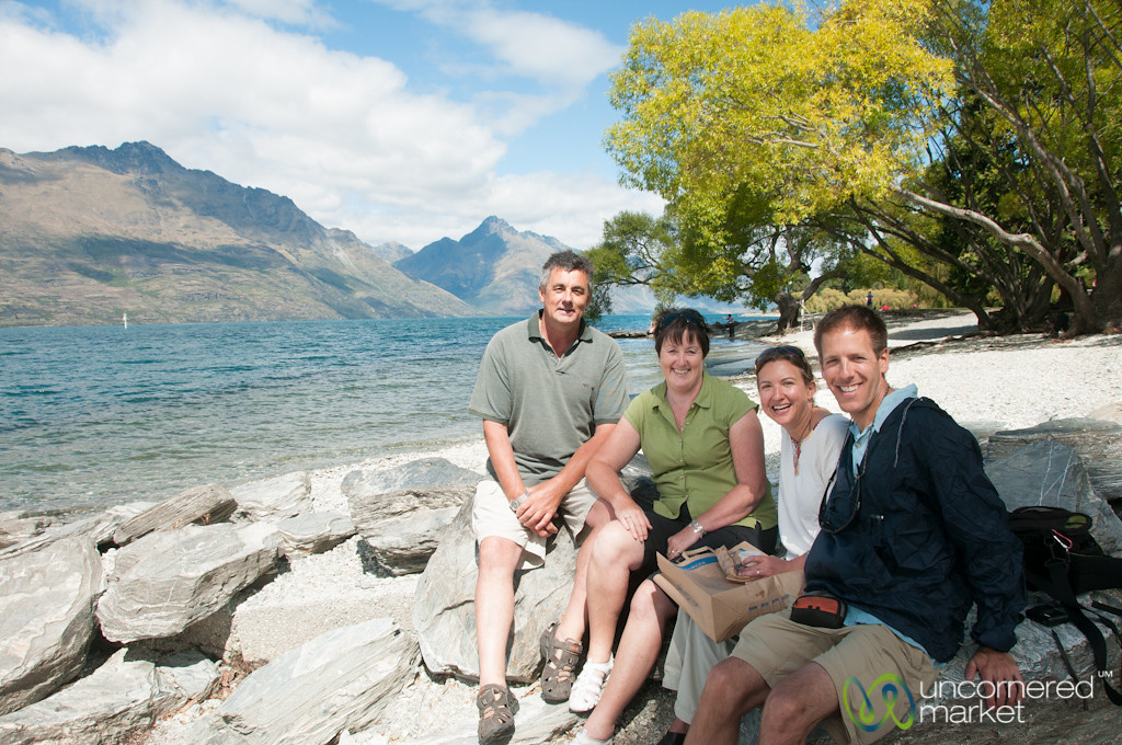 Lunchtime in Queenstown, New Zealand