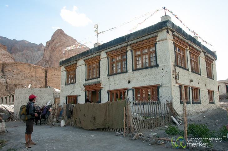 Ladakhi House in Markha Village - Ladakh, India