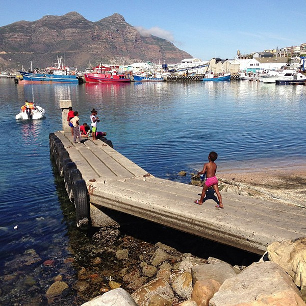 My Ship's Come In! Today's #nofilter special -- Hout Bay, Cape Town
