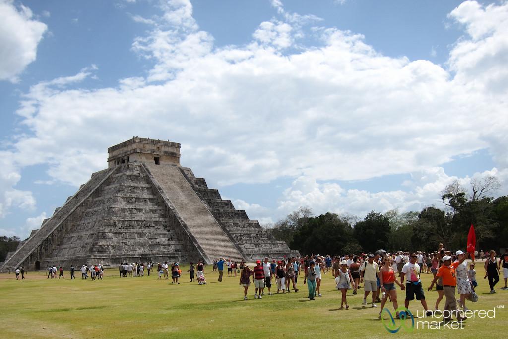 El Castillo at Chichen Itza - Yucatan, Mexico