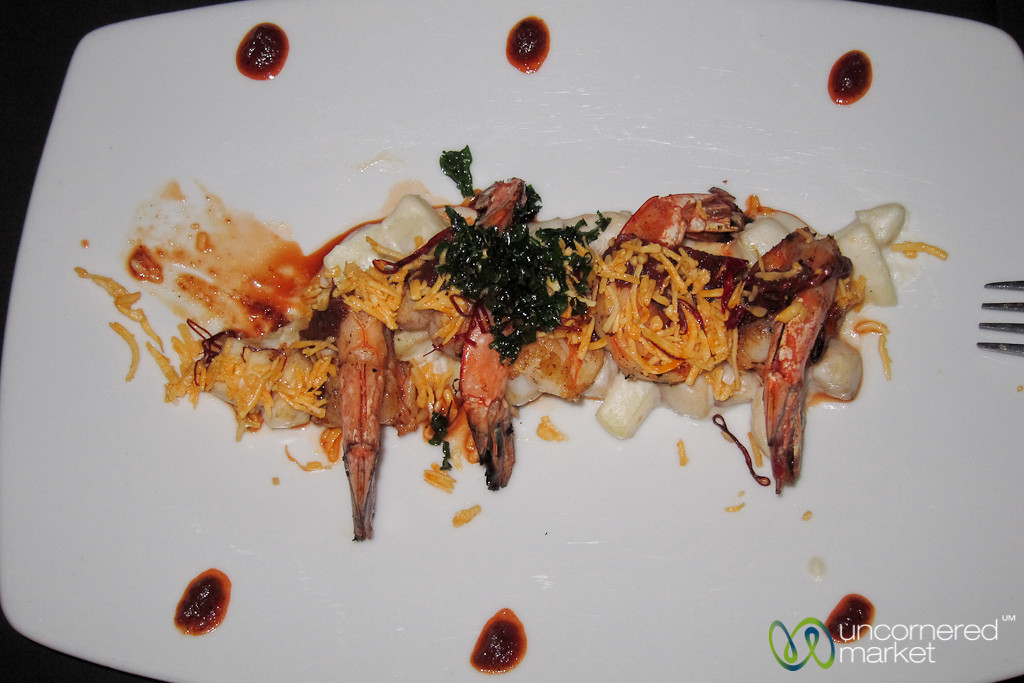 Maya Shrimp at Yaxche Restaurant - Playa del Carmen, Mexico