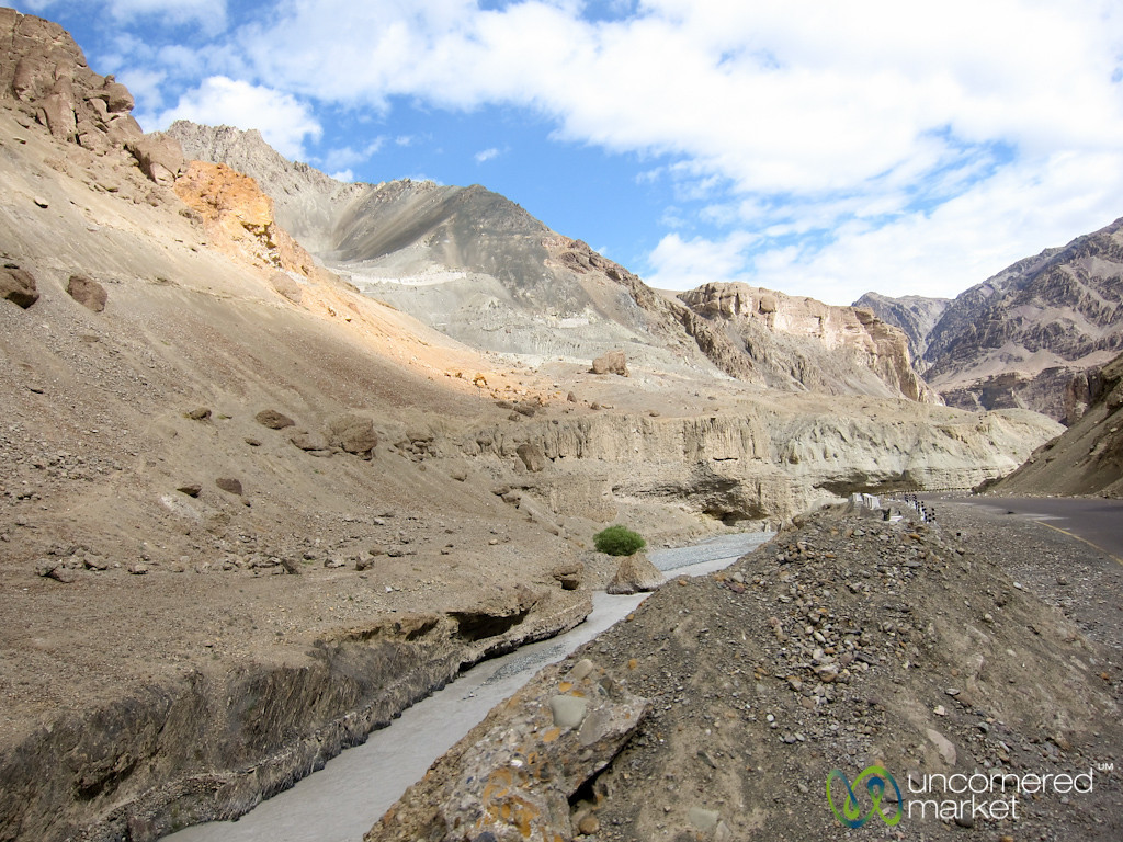 Ladakh Barren High Desert Landscapes - India