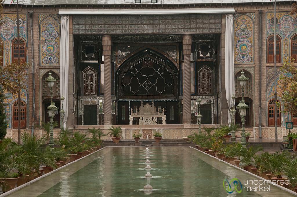Golestan Palace Fountain - Tehran, Iran