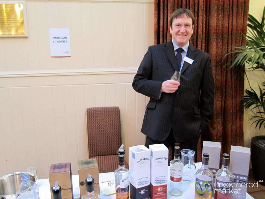 Whisky Tasting at the Scotch Whisky Experience - Edinburgh, Scotland