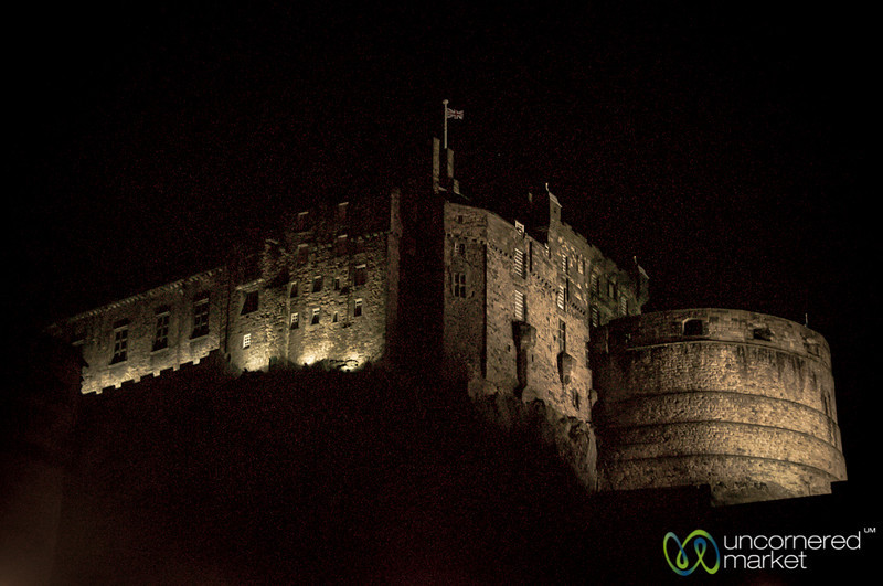 Edinburgh Castle at Night - Scotland
