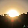 Sunset in the Desert, People Watching - Swakupmond, Namibia