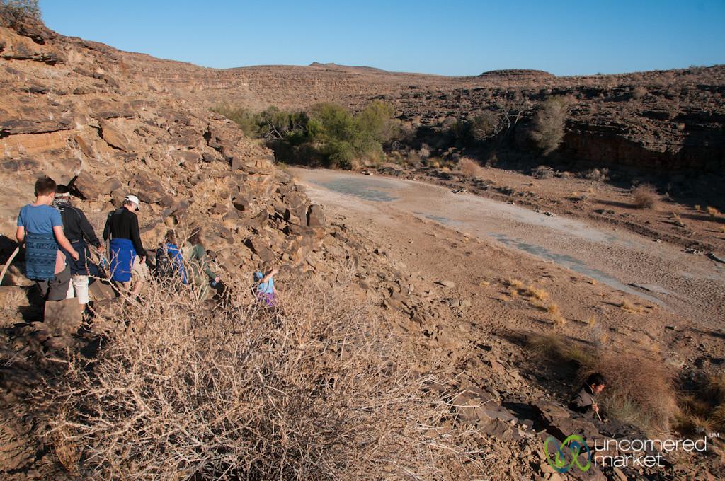 Trekking Near Fish River Canyon - Namibia