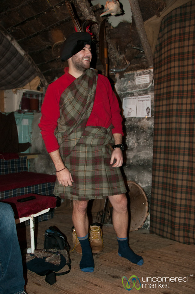 Clansman Centre, Dressed up in a Kilt - Fort Augustus, Scotland