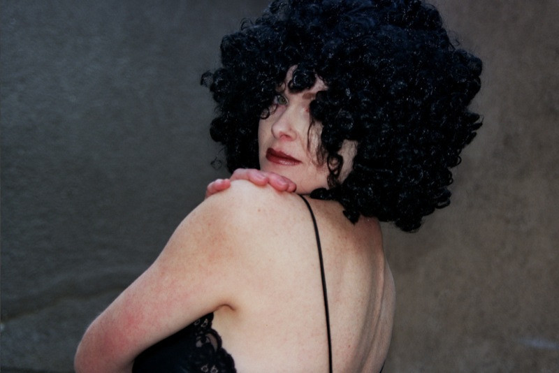 Lady in Black Wig - Prague, Czech Republic