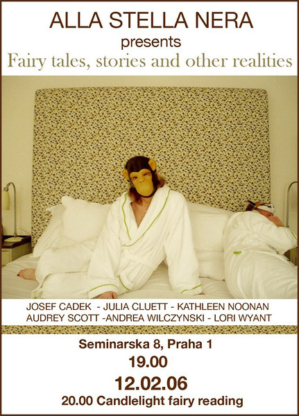 Invitation for Fairy Tales Exhibition - Prague, Czech Republic