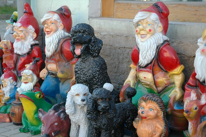 Gnomes and Dogs - Prague, Czech Republic