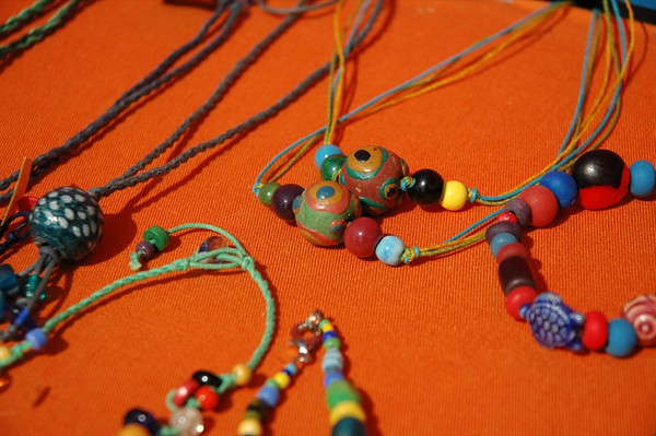 Bead Necklaces - Burosse-Mendousse, France