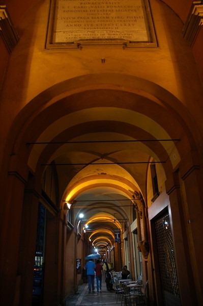 Bologna, City of Arcades - Italy
