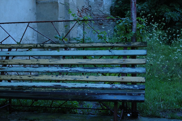Bench - Moravsky Krumlov, Czech Republic