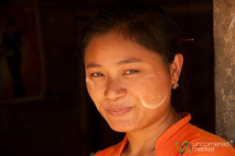 Marma Woman in Village - Bandarban, Bangladesh