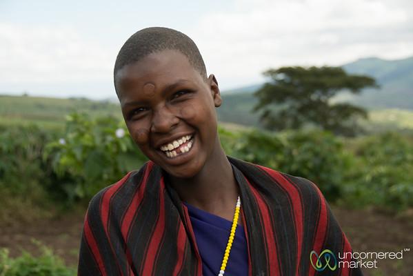 Young Maasai Woman - Tanzania