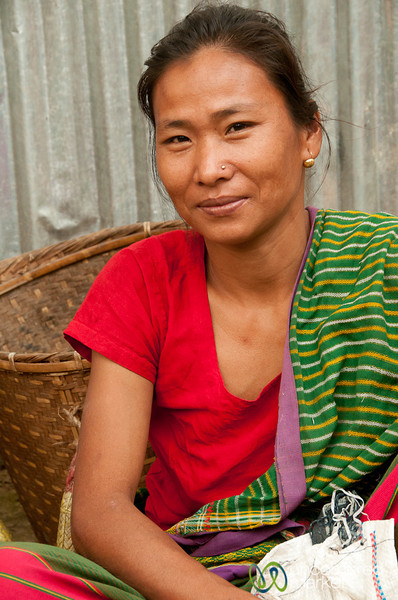 Indigenous Woman at Weekly Market - Bandarban, Bangladesh