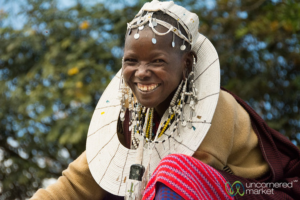 Esupat with her Smiles and Pride - Tanzania