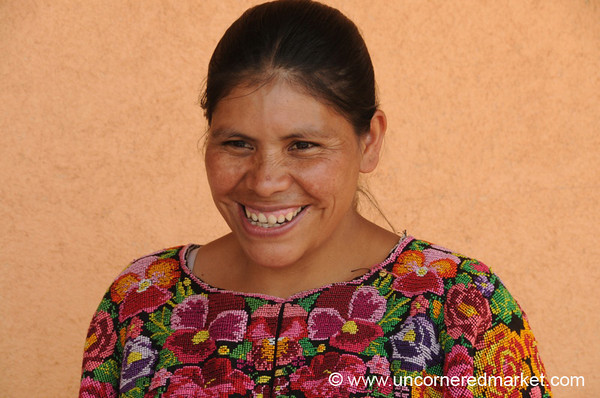 Kiva Borrower, Proud Smile - Chesuc, Guatemala