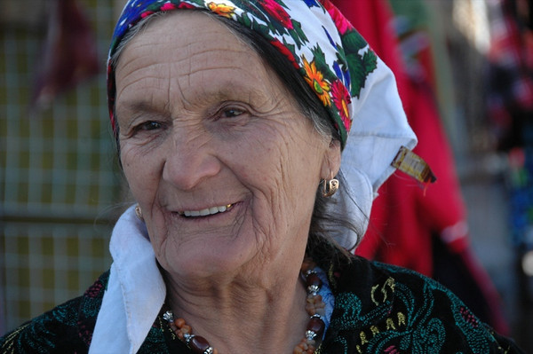 Friendly Smile at Murghab Market - Tajikistan
