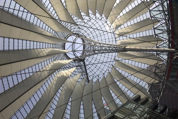 Sony Center at Potsdamer Platz - Berlin, Germany