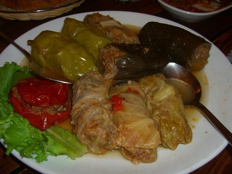 Dolmas (Stuffed Vegetables) - Yerevan, Armenia
