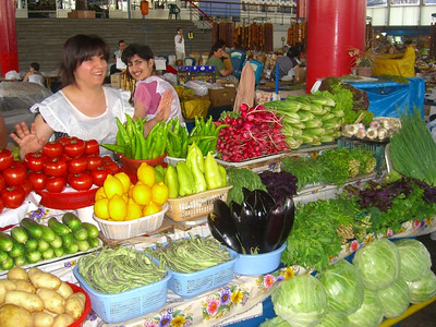 Vegetables at the Market - Yerevan, Armenia