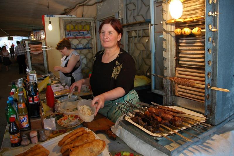 Street Food Kebabs - Yerevan, Armenia