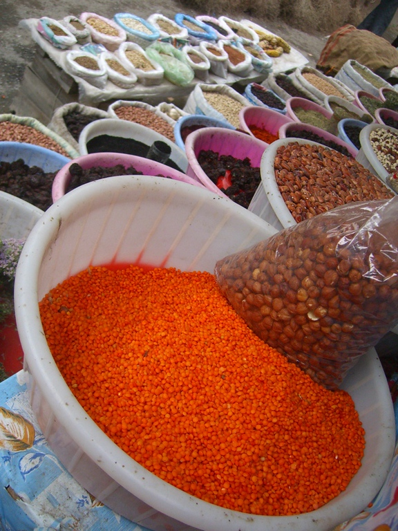 Spices and Lentils - Sheki, Azerbaijan