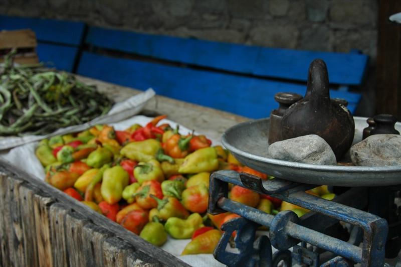 Bell peppers for Sale - Lahic, Azerbaijan