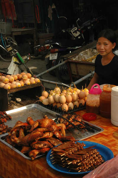 Chicken Legs and Eggs - Battambang, Cambodia